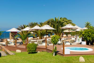H10 Costa Adeje Palace**** - Privilege napozóterasz
